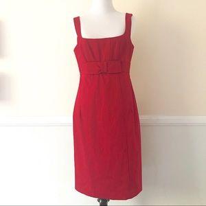 Nanette Lepore Red Cocktail Dress